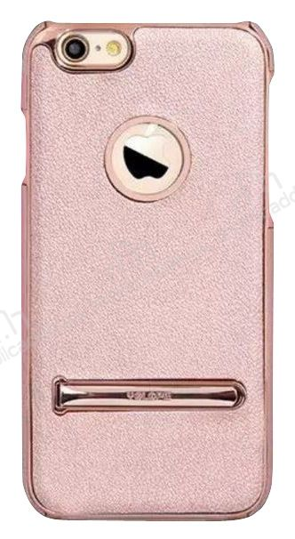 YOLOPE iPhone 6 / 6S Standlı Rose Gold Rubber Kılıf