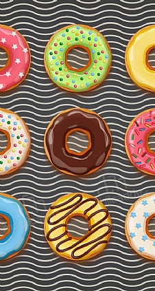 siyah-donut