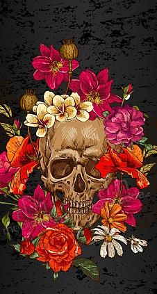 roses-skull-1