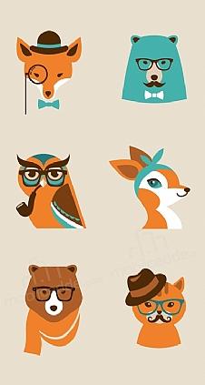 hipster-animals