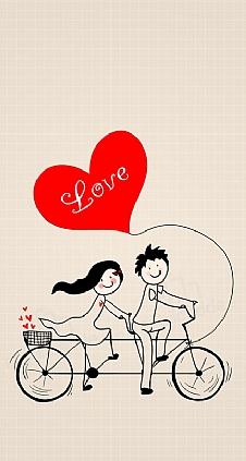 love-bike-couple