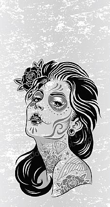 silver-face