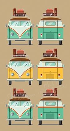 retro-minibus