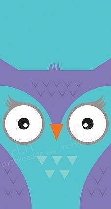 big-face-owl
