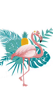 pineapple-flamingo