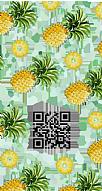 Kişiye Özel Pineapple Hes Kodu Kabartmalı Parlak