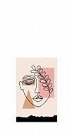 Linear Face Art Kişiye Özel