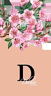 Pembe Çiçekli Kişiye Özel