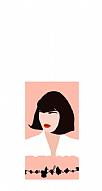 Short Haired Woman Kişiye Özel