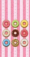 Mini Pembe Donut