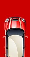 Kırmızı Mini Araba