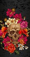 Roses Skull 1