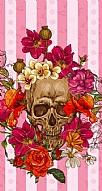 Roses Skull 2