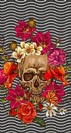 Roses Skull 3