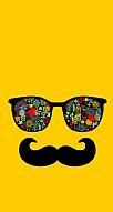 Gözlük Bıyık Sarı