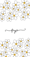 Daisy Patterned Kişiye Özel
