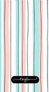 Colored Lines Kişiye Özel