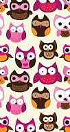 Baykuşlar Desen