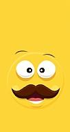 Bıyıklı Emoji