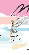 Wing Girl Taşlı