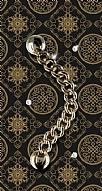 Gold Ring Taşlı Metal Askılı