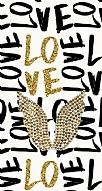 Gold Angel Taşlı