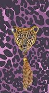 Purple Leopard Taşlı