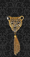 Royal Leopard Taşlı