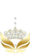 Gold Crown Taşlı