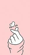 Pink Finger Heart