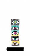 Gözler Kişiye Özel Kabartmalı Parlak