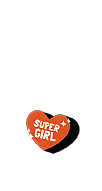 Super Girl Sticker