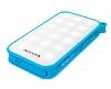 Adata IP54 8000 mah Led Işıklı Mavi Powerbank Yedek Batarya - Resim 6