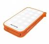 Adata IP54 8000 mah Led Işıklı Turuncu Powerbank Yedek Batarya - Resim 8