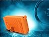 Adata IP54 8000 mah Led Işıklı Mavi Powerbank Yedek Batarya - Resim 3
