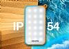 Adata IP54 8000 mah Led Işıklı Mavi Powerbank Yedek Batarya - Resim 4