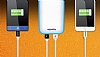 Adata IP54 8000 mah Led Işıklı Mavi Powerbank Yedek Batarya - Resim 5