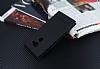 Alcatel A3 Gizli Mıknatıslı Standlı Siyah Deri Kılıf - Resim 2
