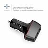ANKER PowerDrive+ 2 QuickCharge 3.0 Hızlı Siyah Araç Şarj Cihazı - Resim 4