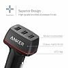 ANKER PowerDrive+ 2 QuickCharge 3.0 Hızlı Siyah Araç Şarj Cihazı - Resim 5