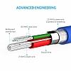 ANKER Powerline Lightning Mavi Data Kablosu 1,80m - Resim 4