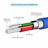 ANKER Powerline Micro USB Mavi Data Kablosu 90cm - Resim 4