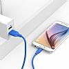 ANKER Powerline Micro USB Mavi Data Kablosu 90cm - Resim 5