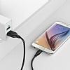 ANKER Powerline Micro USB Siyah Data Kablosu 1.80m - Resim 1