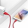 ANKER Powerline Micro USB Kırmızı Data Kablosu 1,80m - Resim 5