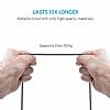 ANKER Powerline Micro USB Gri Örgülü Data Kablosu 1,80m - Resim 4