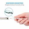 ANKER Powerline Micro USB Beyaz Örgülü Data Kablosu 90cm - Resim 2