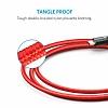 ANKER Powerline Micro USB Kırmızı Örgülü Data Kablosu 90cm - Resim 3