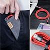 ANKER Powerline Micro USB Kırmızı Örgülü Data Kablosu 90cm - Resim 6