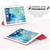 Apple iPad pro 9.7 Slim Cover Gri K�l�f - Resim: 4